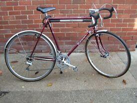Vintage Raleigh 21 speed bicycle