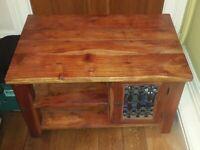Rustic style vintage large Solid Oak Sideboard
