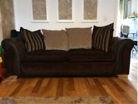 DFS three seater sofa, couch, settee (free local delivery)