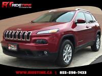 2015 Jeep Cherokee North 4WD - Alloy Wheels, Backup Camera