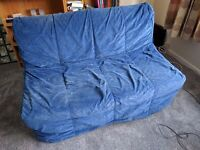 IKEA sofa bed and storage box. Free !! (but must collect)