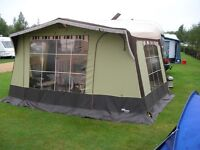 Telt Lansen double awning in great condition