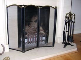 Fireplace Companion Set - vintage style.