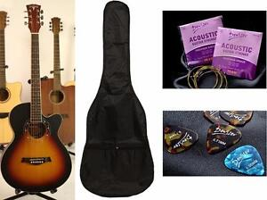 Acoustic Guitar Brand new iMusic52 Free Bag String Set, 5 picks : scratch $117.99 --> $79.99