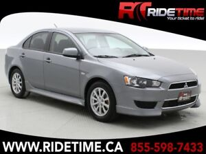2012 Mitsubishi Lancer SE - Automatic, Alloy Wheels, Heated Seat