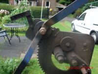 IRON WORKER RING ROLLER