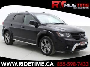 2017 Dodge Journey Crossroad AWD - 7 Passenger, NAV, DVD, Sunroo