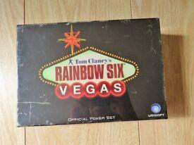 Tom Clancy's Rainbow Six Vegas Poker Set