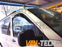 VW Transporter T5 Clip On Wind Deflectors