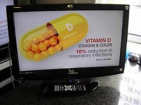 """BLAUPUNKT 23"""" LCD TV/DVD"""
