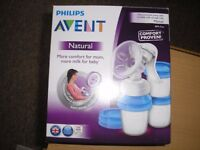 Avent Philips breast pump.