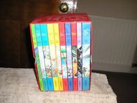 Boxed set of children's classic books (as new)