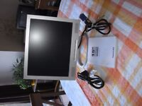 """15"""" Packard Bell Monitor. Perfect working order. Excellent condition. £15"""