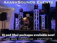 Asian Dj and Dhol Available to hire now (Local and Experienced)