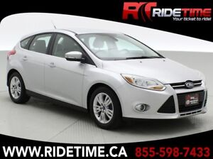 2012 Ford Focus SEL Hatchback - Leather, Alloy Wheels, Automatic