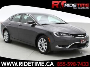 2015 Chrysler 200C - Leather, Panoramic Roof, V6