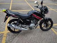 Yamaha YBR 125, FSH, inc. spares, lock, jacket, trousers & gloves