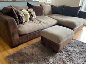 DFS Corner Sofa, Excellent Condition