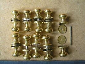 Brass door knob sets