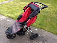 BABY JOGGER CITY ALL TERRAIN FOLDING STROLLER PUSHCHAIR