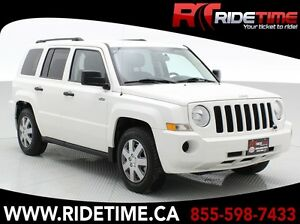 2009 Jeep Patriot North 4WD - Automatic - ONLY $113 Bi-Weekly!