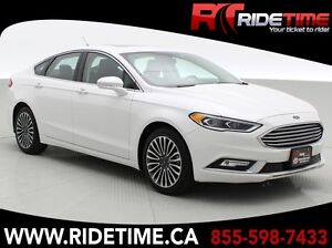 2017 Ford Fusion SE AWD - Luxury Package w/ Leather, Navigation,