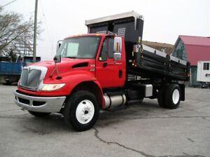 2012 International 4300 New Dump Box
