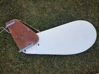 Solo Dinghy Rudder in Good Condition