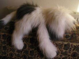 Large Old English Sheepdog Soft Cuddly Toy