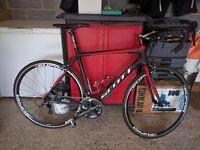 2012 Scott CR1 Pro 54cm Carbon Fibre Ultegra Road Bike