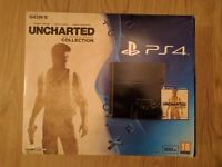 PS4 500gb like new + 4 games