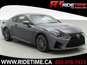 2015 Lexus RC F - Heated & Cooled Leather Seats, Alloy Wheels