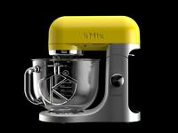 Kenwood kMix Stand Mixer - Sun Kissed Yellow KMX50 inc Glass Bowl and 4 Beater Attachments
