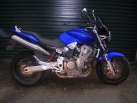 Honda Hornet CB900 blue, low mileage, garaged, long MOT