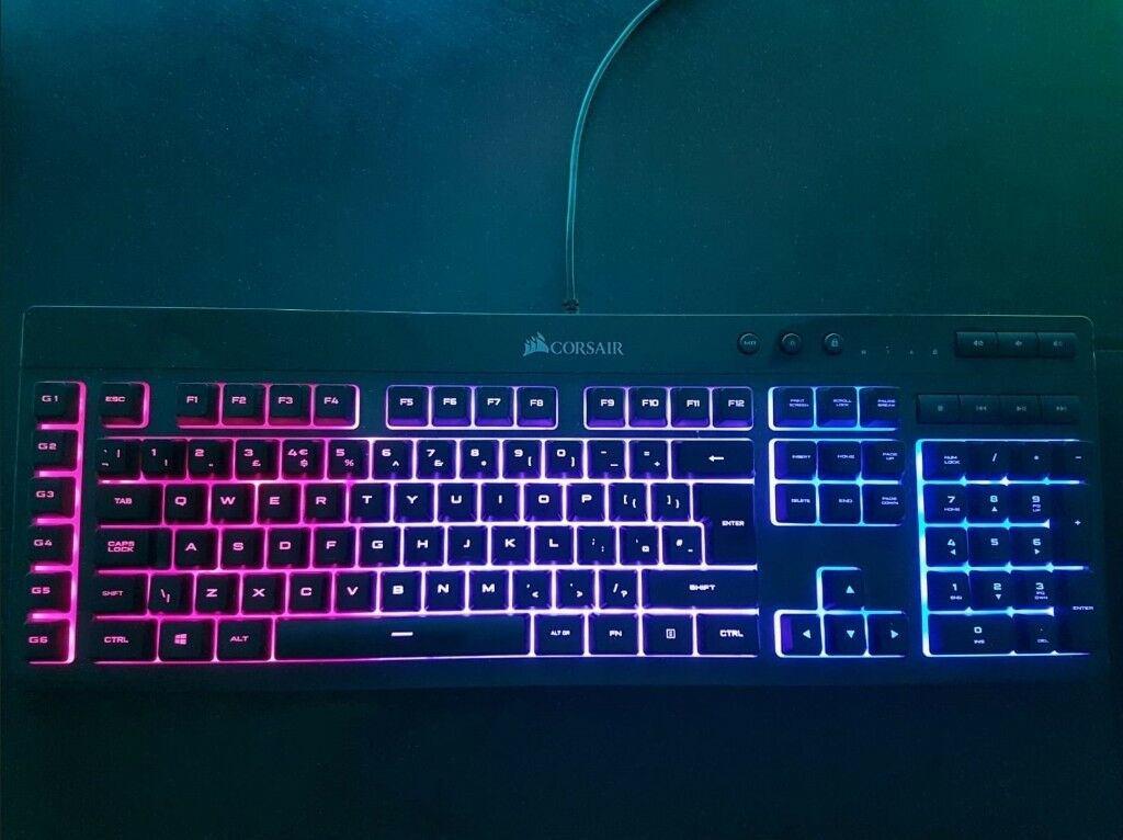 Corsair K55 RGB Gaming Keyboard | in Kingswood, East Yorkshire | Gumtree