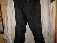 weise motorbike trousers