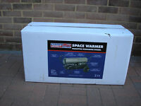 Sealey Space Heater AB7081SS, Stainless Steel ( NEW in BOX )