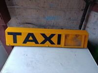 Magnetic Taxi Roof Sign