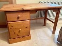 Solid Pine Desk/Dressing Table