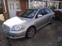 Toyota Avensis Automatic 2004, 2.0 Petrol, Silver, 81100 miles, MOT 03.08.2018