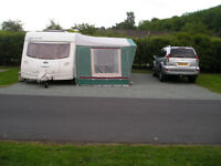 trio sport caravan awning 1070cm