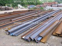 STEEL GIRDER / GIRDERS FOR SALE PRESTON LANCASHIRE VARIOUS SIZES & LENGTHS, BOX SECTION, ANGLE IRON