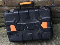 Secondhand drill case in good condition