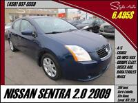 2009 Nissan Sentra 2.0 A/C CRUISE MAGS