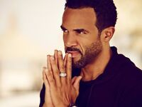 Craig David | Sat 8th April | Ricoh Arena Auditorium, Coventry | Doors Open 6pm | 2 x Tickets