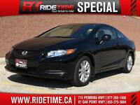 2012 Honda Civic EX Coupe - Manual - ONLY $101 Bi-Weekly!