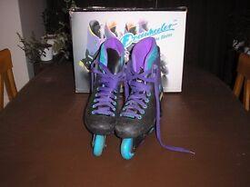 Purple inline skates Size 7 Good condition £8