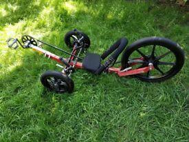 KMX Karts, Recumbent bicycle, Childs Sports Trike