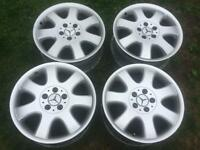 """Mercedes CLK Alloy Wheels 17"""""""