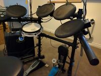 Roland TD-6 drums & Peavey KB2 Amp